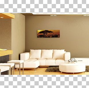 Sofa Bed Living Room Interior Design Services Coffee Tables PNG