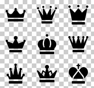 Crown Computer Icons Silhouette PNG