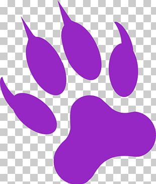 Black Panther Dog Cougar Paw PNG