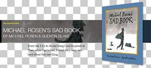 Sad Book Brand Display Advertising PNG