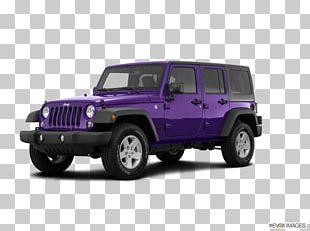 2018 Jeep Wrangler JK Unlimited Car 2018 Jeep Wrangler Unlimited Sport PNG