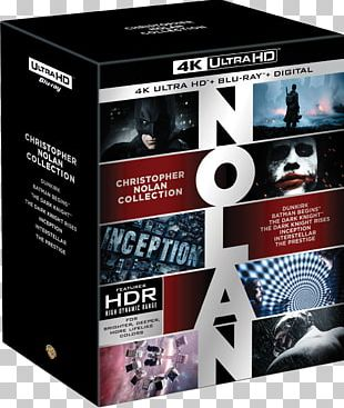 Christopher Nolan Ultra HD Blu-ray The Dark Knight Blu-ray Disc YouTube PNG