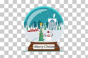 Crystal Ball Christmas Snow PNG