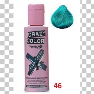 Hair Coloring Green Human Hair Color Dye PNG