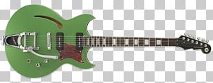 Electric Guitar Humbucker Bass Guitar Reverend Musical Instruments PNG