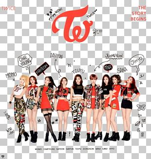 TWICE The Story Begins CHEER UP K-pop Music PNG