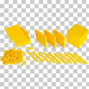 Decimal Base Ten Blocks Mathematics Cube Number PNG