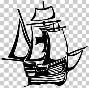 Voyages Of Christopher Columbus Santa María Niña Ship PNG