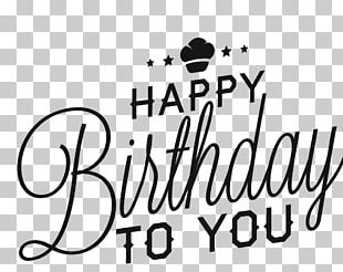 Happy Birthday To You Greeting Card Adobe Illustrator PNG