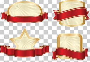 Vignette Label Banner Logo PNG
