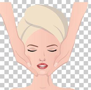 Massage Face Facial Illustration PNG