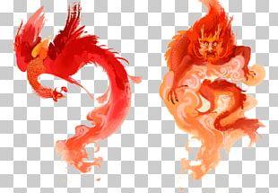 China Chinese New Year Chinese Dragon Illustration PNG