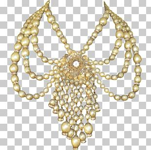 Pearl Body Jewellery Necklace Festoon PNG