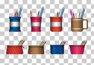 Pencil Case Box Stationery PNG