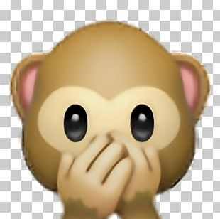 Emojipedia Sticker Monkey PNG