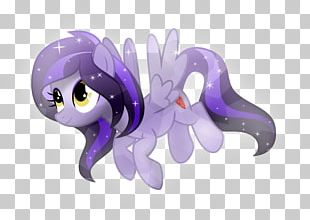 Horse Pony Animal Figurine Lavender PNG
