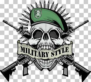 T-shirt Firearm Skull PNG