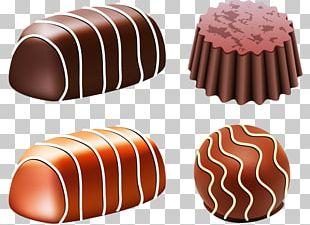 Chocolate Truffle Chocolate Bar Bonbon Candy PNG