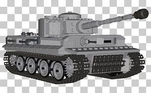 Churchill Tank Self-propelled Artillery Gun Turret PNG