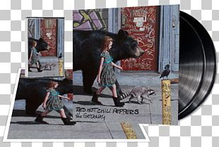 Red Hot Chili Peppers The Getaway Album Cover Dark Necessities PNG
