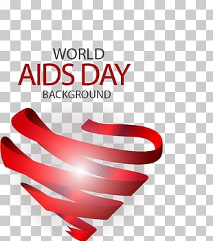 Red Ribbon World AIDS Day PNG
