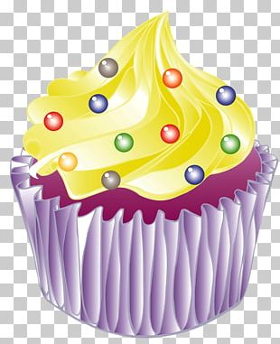 Ice Cream Cupcake Birthday Cake Muffin Buttercream PNG