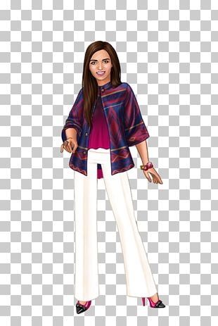 Lady Popular Fashion Model Game Costume PNG