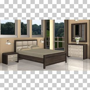 Bed Frame Mattress Furniture Bedding PNG