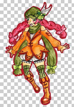 Fairy Illustration Costume Design Cartoon Flowering Plant PNG