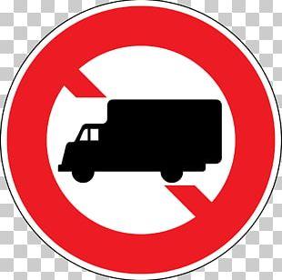 Verkehrszeichen Traffic Sign Truck Road Renault Midlum PNG