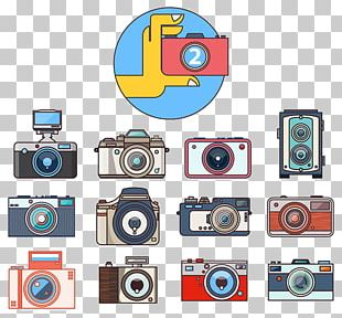 Camera Photography Adobe Illustrator Icon PNG