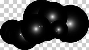 Black White Sphere PNG