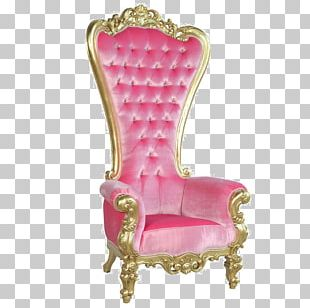 Coronation Chair Throne Queen Regnant Furniture PNG