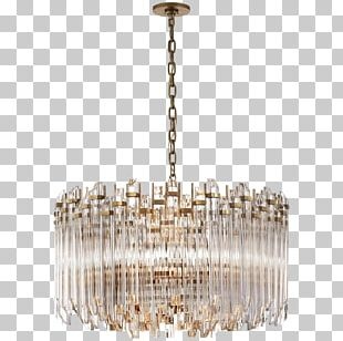 Chandelier Lighting Brass Light Fixture PNG