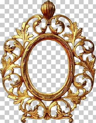 Frames Ksk Russkiy Almaz Decorative Arts Oval Mirror PNG