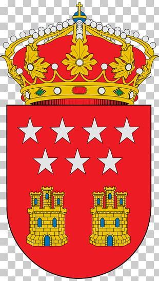 Coat Of Arms Of The Community Of Madrid Flag Of The Community Of Madrid Escutcheon PNG