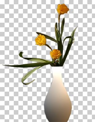 Floral Design Vase Painting Drawing Art PNG