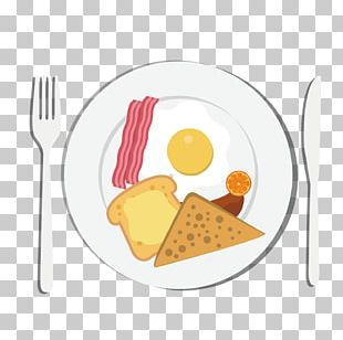 Breakfast Toast Eating Food European Cuisine PNG