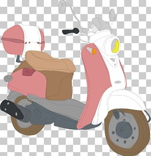 Euclidean Motorcycle Illustration PNG