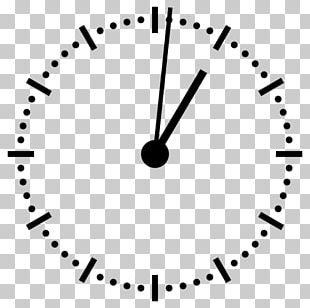12-hour Clock Watch Analog Signal Digital Clock PNG
