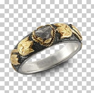 Wedding Ring Silver Colored Gold Gemstone PNG