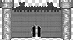 Castle Fortification Stone Wall PNG