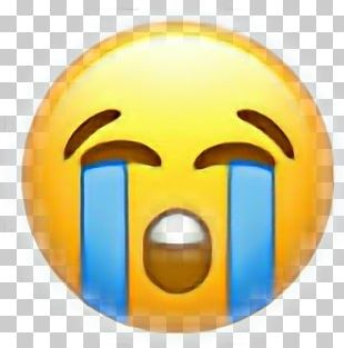 Emoji Domain Crying Emojipedia Sticker PNG