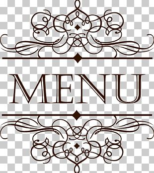 Menu Cafe Restaurant Wine List PNG