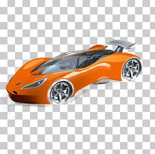 Sports Car Compact Car Car Model PNG