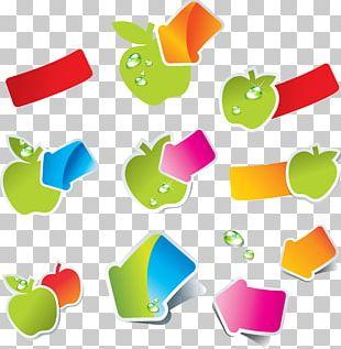 Organic Food Fruit Vegetable Sticker PNG