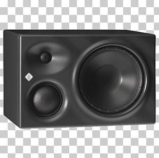 Subwoofer Studio Monitor Microphone Computer Monitors Georg Neumann PNG