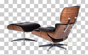Eames Lounge Chair Charles And Ray Eames Wing Chair Chaise Longue PNG