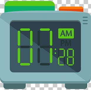 Alarm Clock Timer Digital Clock PNG