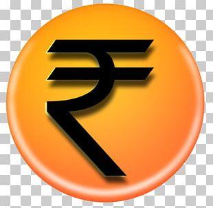 Indian Rupee Sign Symbol Money PNG